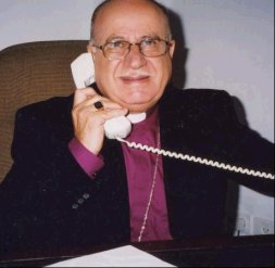 The Right Reverend Riah Abu El-Assal Former Bishop of Jerusalem
