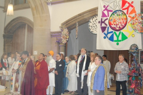 Peace Mala Festival of Interfaith & Culture for Education, The Monastery in Gorton, Manchester on the 4th October 2010