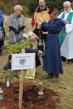 Peace Mala Tree of Peace Ceremony 2012