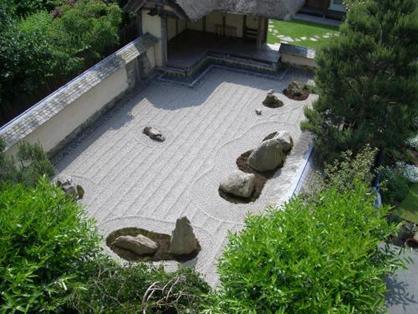 Three Wheels Stone Garden